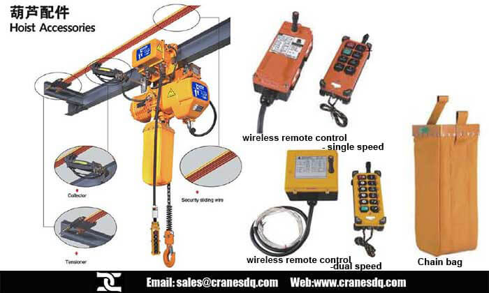 Electric chain hoists get your material handling work enjoyable
