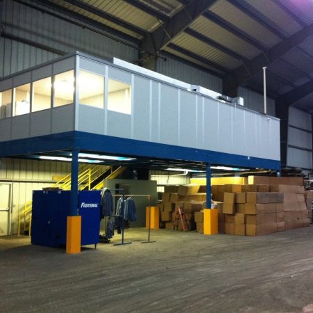 Warehouse Mezzanine Offices