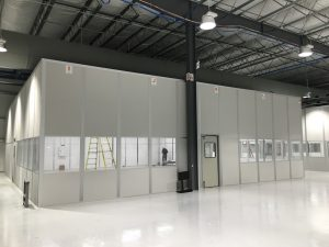 Warehouse Pre-Fab Offices