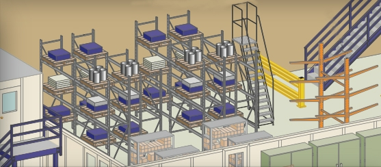 Warehouse Pallet Rack Shelving