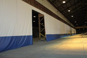 Industrial curtain Room Dividers