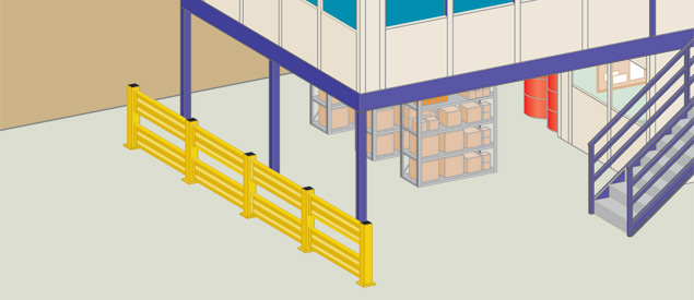 Guardrails and other Warehouse Safety Equipment