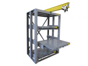 Glide-Out-with-Monorail-Crane-System