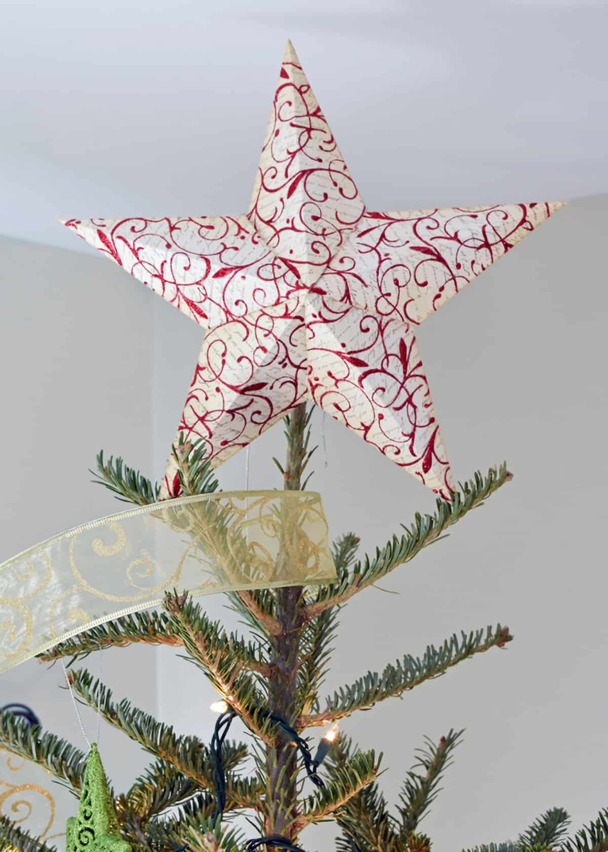 Star Tree Topper and Templates - star template