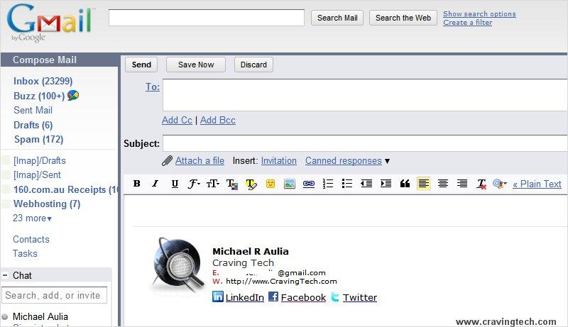 How to add a Gmail signature with image (THE EASIEST WAY)