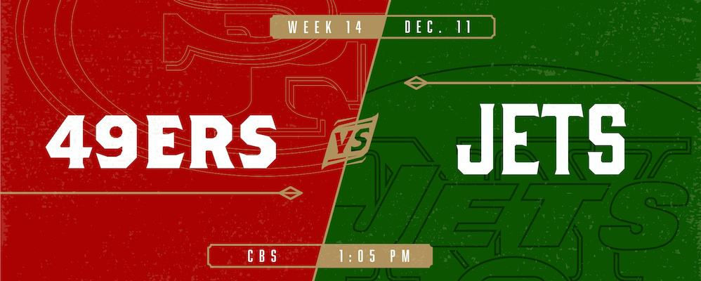 49ers vs. Jets – Discounted Tickets