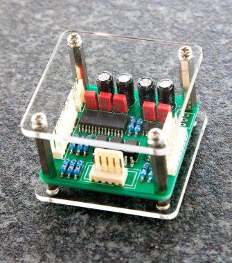 The Quad volume control circuit