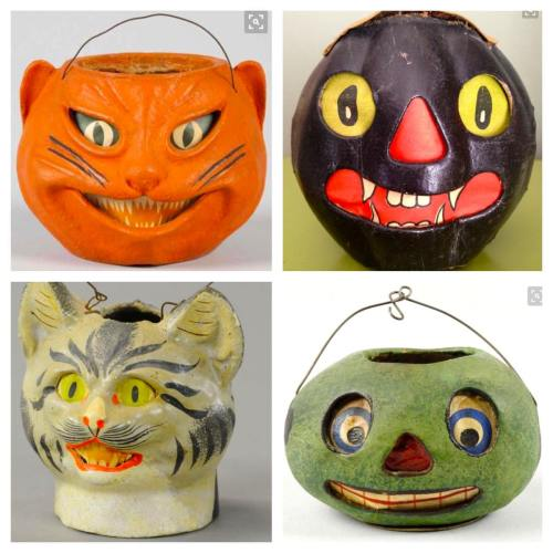 Medium Of Vintage Halloween Decorations