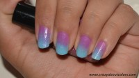 Ombre Nails - Crazy about Colors