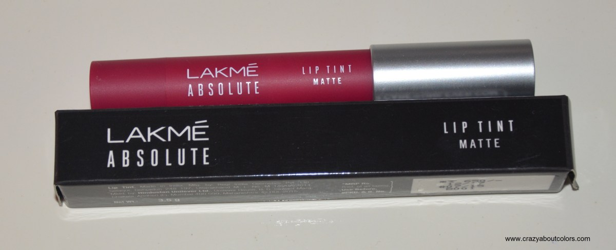 Lakme Absolute Lip Tint Matte: Magenta Magic Review and Swatches