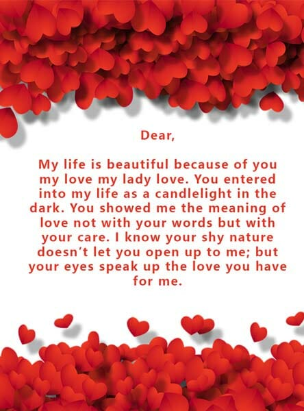 Romantic Love Letters for Her from The Heart (Deep + Sweet)