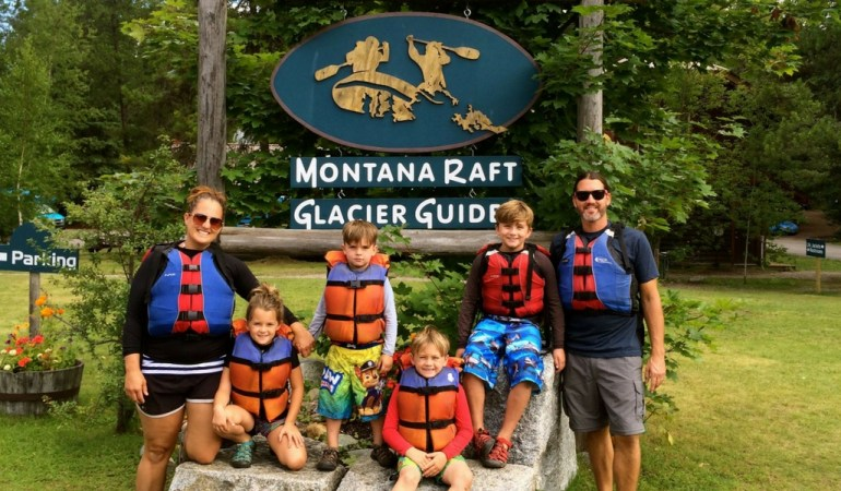 Rafting With Kids With Montana Raft