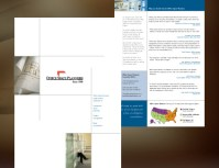 Graphic Design Portfolio: Office Space Planners Brochure
