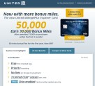 50,000 Bonus Miles for United MileagePlus Explorer Card, offer end 6/2/2015