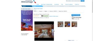 Monterey Plaza Hotel and Spa Redemption by American AAdvantage 61,900 miles average per night