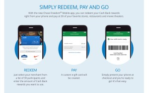 Chase Freedom New Way to Redeem