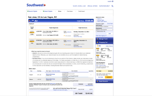 Southwest Airlines Ticket Purchased