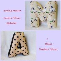 Alphabet Pillows Letter,Personalised Letter Pillow,Soft ...