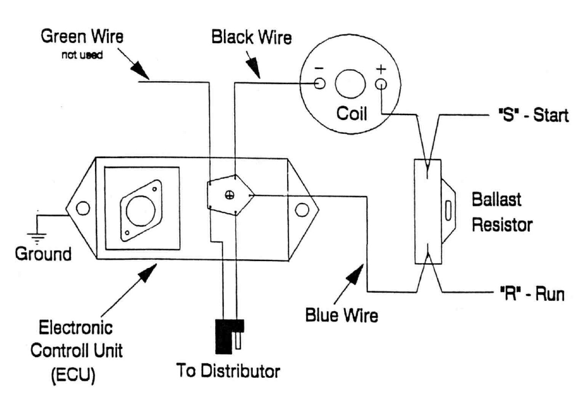 chrysler electronic ignition coil wiring