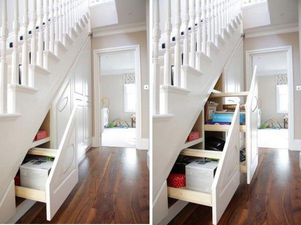 Rangements Sous Escalier