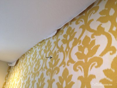 How to wallpaper with fabric using starch - Cre8tive Designs Inc.