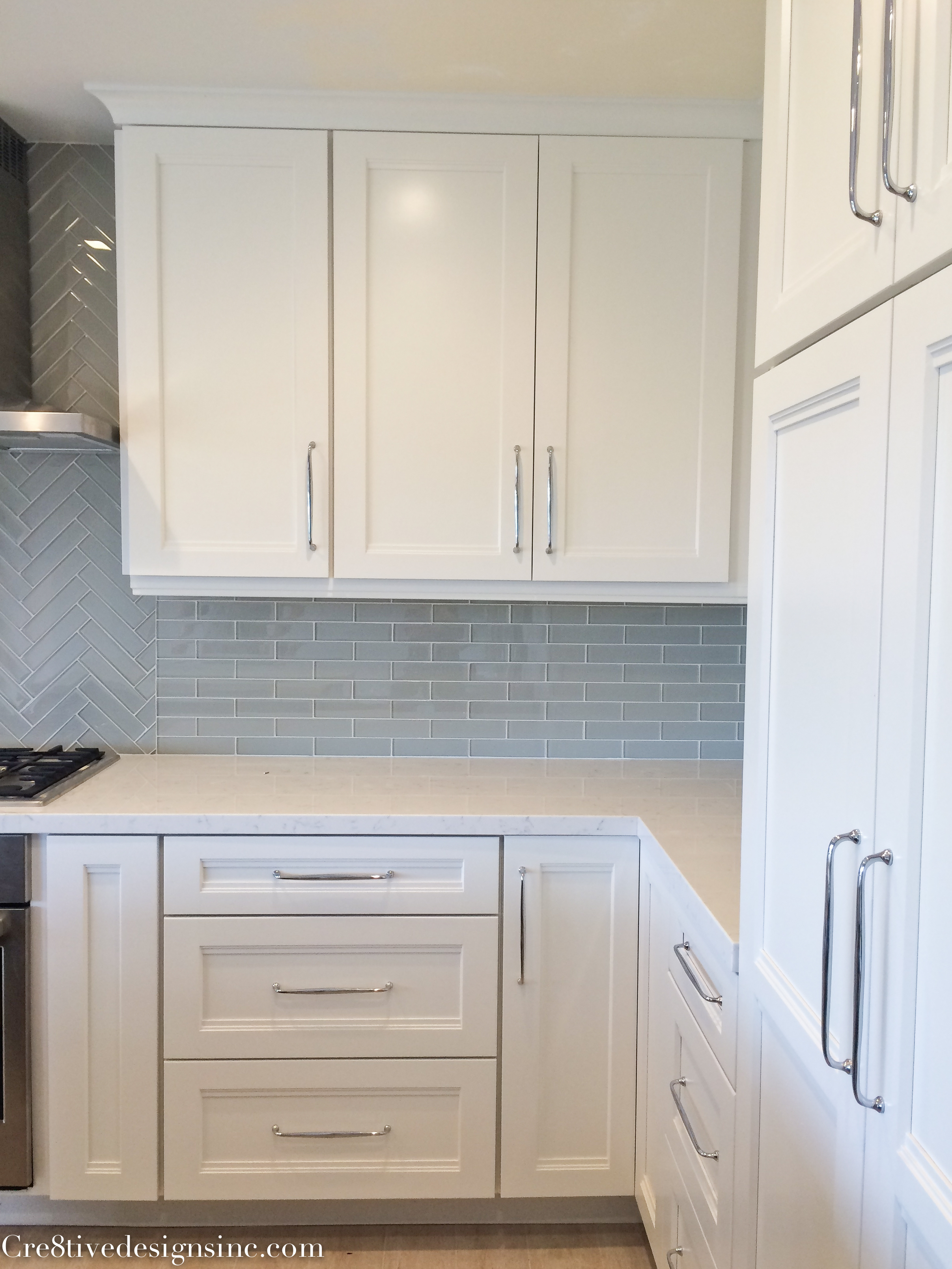 Kitchen remodel using Lowes Cabinets