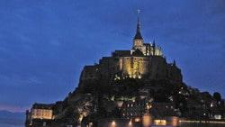 Mont Saint Michel, tra bassa e alta marea