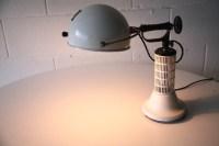 1950s Heat Lamp by Hanovia | Cream and Chrome