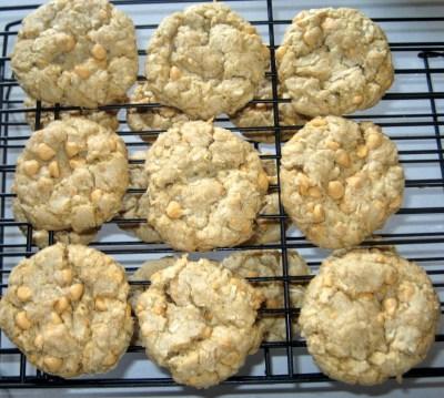 Coconut Butterscotch Cookies