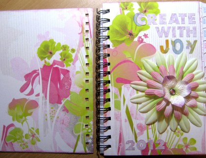 Altered Planner - Front & Back Covers