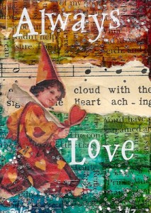 Nicole Foshee - Heart Wide Open - Love ATC
