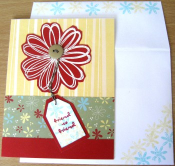 Friend To Friend - Card & Envelope at Create With Joy