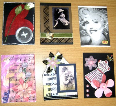 ATCs by Create With Joy