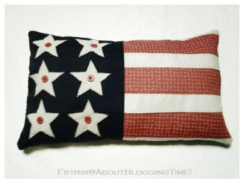 Patriotic Pillow by Fifi