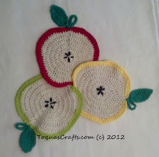 Toquas Apple Crochet Project