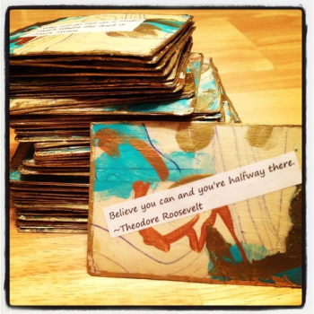 Inspirational Card Deck - Mary Nassar