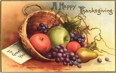 Vintage Thanksviging Postcard