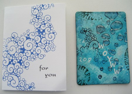 Cards from Nan - Froggy Designs