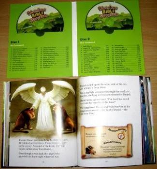 Adventure Bible Storybook Deluxe Edition - Book & Discs