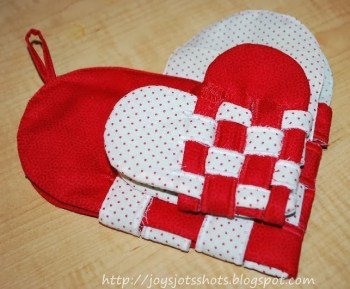 Woven Fabric Heart