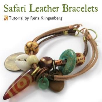 Safari Leather Bracelets