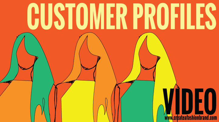 Create a fashion brand or clothing line. A video of developing and understanding customer profiles and why they are so important for your business. It improves sales and stronger loyalty for fashion brands and clothing line.
