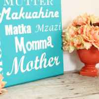 Mother's Day Subway Art {and a HUGE Giveaway!}