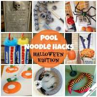 Pool Noodle Hacks: Halloween Edition