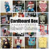 Cardboard Box Halloween Costumes