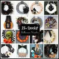 25+ Spooky Halloween Wreaths
