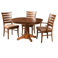 Square Round Table - Home Envy Furnishings: Solid Wood ...