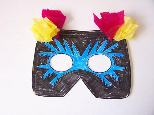 printable-bird-mask - Create in the Chaos