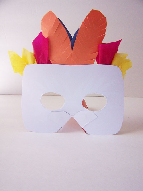 Printable Jungle Masks - Toucan and Monkey - Create in the Chaos