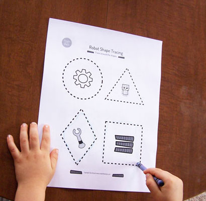 printable-shape-tracing - Create in the Chaos